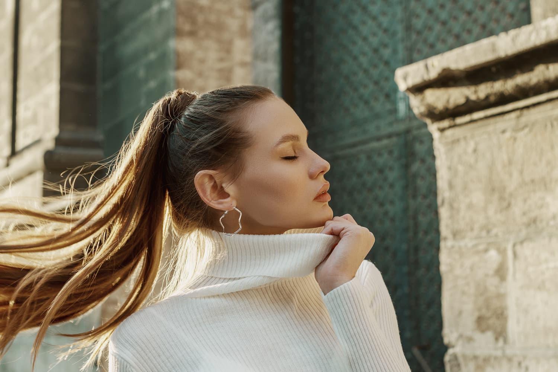 coiffure ponytail